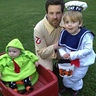 Photo #1 - Ghostbusters Family: Ghostbuster, Stay Puft Marshmallow Man, and Slimer