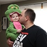 Photo #3 - Baby Slimer 7 month old girl smiles