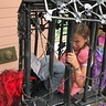 Photo #3 - Girl Trapped in Cage by Monster