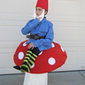 Photo #3 - Gnome on a Toad Stool