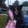 Photo #1 - Glinda the Good witch and her Sister the bad witch.