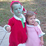 Photo #2 - The Grinch and Cindy Lou Whoo sing together...
