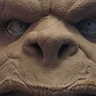 Photo #5 - Monster clay face sculpt