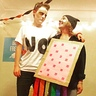 Photo #1 - Katy and Keegan as Grumpy cat and Nyan Cat