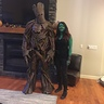 Photo #2 - Groot and Gamora