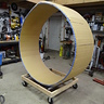 Photo #7 - Completed wheel before painting and detail work
