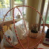Photo #4 - Attaching the Hula-Hoops