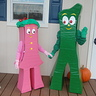 Photo #1 - Happy Halloween from Gumby and Minga