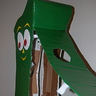 Photo #5 - Access and inside view of Gumby costume