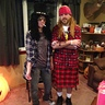 Photo #1 - Slash & kilted Axl