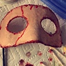 Photo #2 - Mask After latex, scar wax, make up and blood