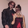 Photo #1 - Me and my boyfriend.  Full costume