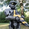 Photo #1 - Master Chief with his DMR rifle