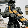 Photo #2 - Master Chief with his DMR rifle