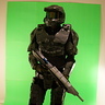 Photo #3 - Pose 1 with Assault Rifle (MA5C)
