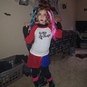 Photo #1 - posing proud in her costume before we headed out to trick or treat