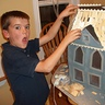 Photo #2 - Our Son Working on Shingles