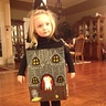 Photo #9 - Sarah FULL LENGTH shot of Haunted House Costume
