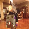 Photo #10 - Sarah Admiring Haunted House in Mirror