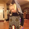 Photo #2 - Sarah loves her Haunted House Costume
