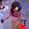 Photo #3 - check out that belly! best part of being a hula baby.. bellys are in!