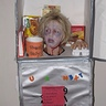 Photo #1 - Frozen head in freezer