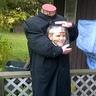Photo #2 - Headless man with head in a jar