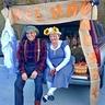 Photo #1 - Grandpa Jones and Minnie Pearl on Hee Haw at Happy