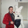 Photo #2 - Hef and the Playboy Bunny Centerfold that didn't make the cut