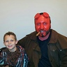 Photo #1 - Hellboy and son, Wolfboy.