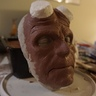Photo #2 - Hellboy clay sculpture