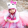 Photo #1 - Hello Kitty Baby Girls Tutu Dress Costume Set