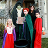 Photo #1 - The Sanderson sisters, Billy and Binx the cat