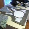 Photo #7 - This was the beginning of building the vest/armor