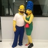 Photo #1 - Homer and Marge Simpson