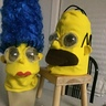Photo #2 - Homer and Marge Simpson
