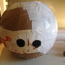 Photo #7 - Sam mask made with papel mache