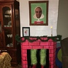 "Photo #4 - Fire place with grinch in it and ""who"" portrait"