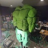 Photo #4 - Hulk Costume beginning to paint and take form