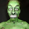 Photo #1 - Hulk Face Paint
