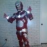 Photo #2 - Iron Man Costume open faceplate