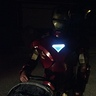 Photo #3 - Iron Man pushes a stroller