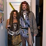 Photo #2 - Captain Jack Sparrow and Calypso from pirates of the caribbean