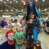 Photo #1 - AVATAR Warrior stands 8 feet tall and towers over fans!