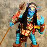 Photo #10 - AVATAR Warrior posing for a Baltimore Sun photographer just prior to the costume contest at the Baltimore Comic-Con.