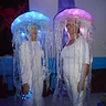 Photo #1 - DIY Glowing Jellyfish costumes