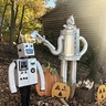 Photo #2 - Julianbot 1.0 posing with other robot friends
