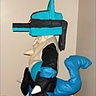 DIY Pokemon Lucario Costume