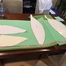 Photo #2 - making the foam pattern