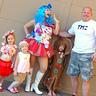 Photo #1 - California Girls Video, Katy Perry, Family Theme Halloween 2011